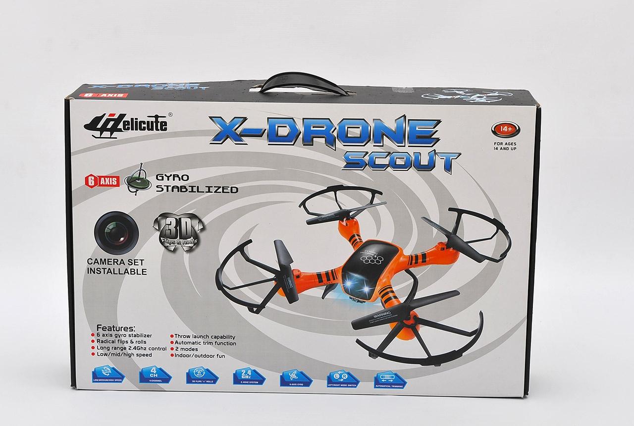 RC Dron Kvadroptéra s kamerou