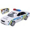 Wiky Auto policie plast 24cm na baterie se zvukem se světlem v krabici 28x14,5x12cm