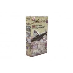 Teddies Letadlo model Hawker Hurricane 4D plast mix druhů v krabici 13x22x4,5cm 6ks v boxu
