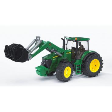 BRUDER Farmer - Traktor John Deere 7930 s předním nakladačem 1:16