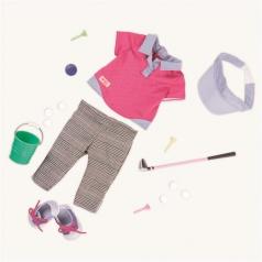 Our Generation Obleček na golf pro panenky 46cm, BD30301