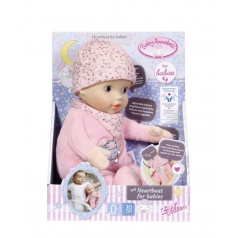Zapf Creation Baby Annabell Heartbeat for babies, 30cm