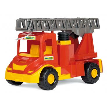 WADER Auto multitruck hasiči stříkací plast 43cm v sáčku