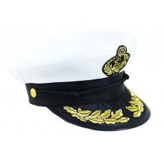 Karnevalová čepice kapitán námořník dospělý