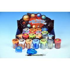 Teddies Sliz - hmota sluneční soustava 6cm asst různé barvy