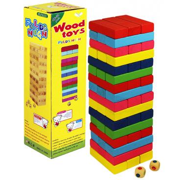 rappa hračky hra Jenga dřevo
