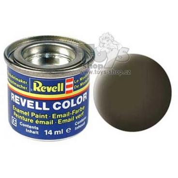 Revell emailová barva 32140 matná černo zelená