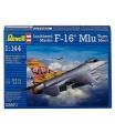 Revell Plastic ModelKit letadlo 03971 - F-16 Mlu TigerMeet (1:144)
