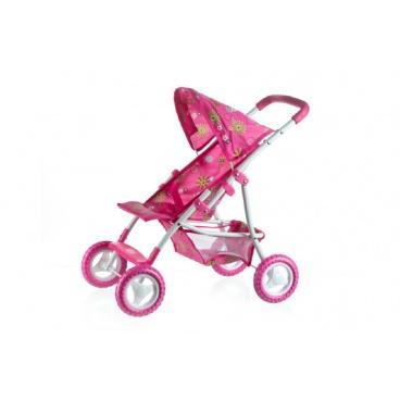 Teddies Kočík pre bábiky športové so strieškou kov/plast 58x36x62,5cm v krabici