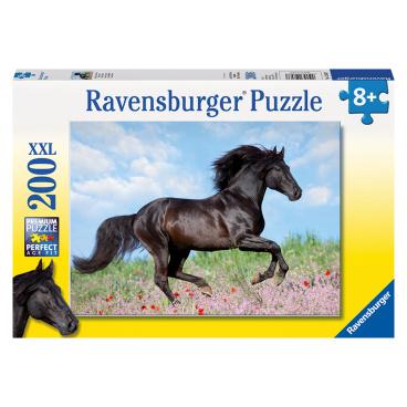 Černý hřebec 200d