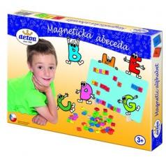 Detoa Magnetická abeceda dřevěná