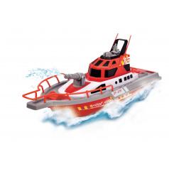 Dickie RC loď hasiči 37cm, 3kan