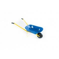 Kolečko plechové modré 75x30x40cm v sáčku