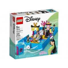 Lego Disney 43174 Mulan a její pohádková kniha dobrodružství
