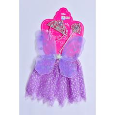 Mac Toys Šaty pro princeznu - fialové