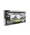 Teddies Vlak s kolejemi plast 45ks na baterie se světlem se zvukem v krabici 54x27x7cm