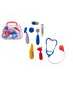 Teddies Sada doktor/lékař plast v plastovém kufříku 23x19x6cm v sáčku