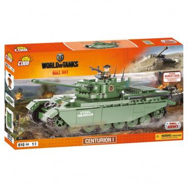 COBI 3010 World Of Tanks stavebnice tanku WOT Centurion A41 MK.1, 610 k, 1 f