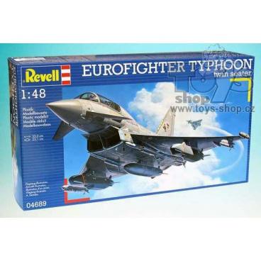 model letadla Revell 04689 Eurofighter Typhoon Twin seat