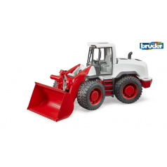 Bruder Konstrukční vozy - traktor s předním nakladačem
