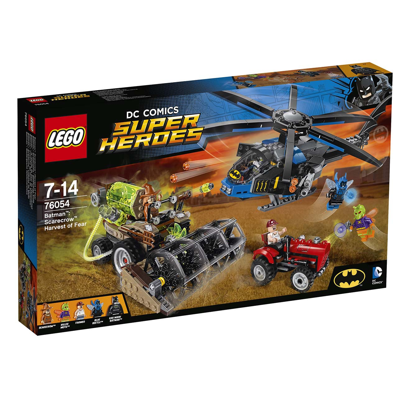 Lego Super Heroes 76054 Batman: Scarecrow Sklizeň strachu